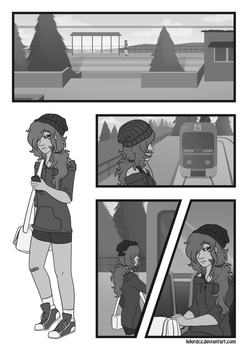 [An Outsider] Page 1 by KikiRDCZ