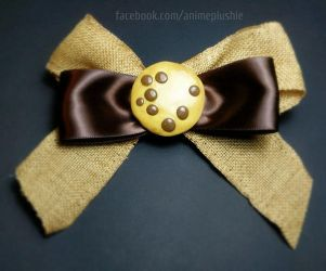 Cookie Bow by SarahsPlushNStuff
