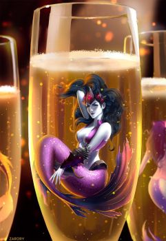 Champagne Widowmaker by Zarory