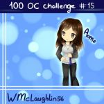 [100 OC CHALLENGE#15] Aome [WMcLaughlin56] by MimiChair