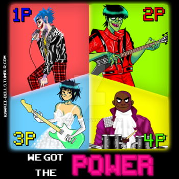 Humanz Fanthology 20# We Got The Power  by bells123