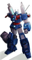 Ultra Magnus by Tyr44