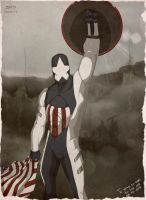 Captain America#redesigned_heroes by dorets