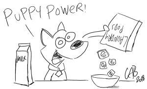 Scrappy Pods by bakertoons