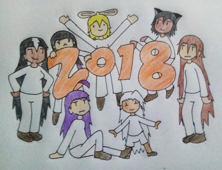 2017-2018 Transition Piece - Happy New Year by Sm-ArtThings