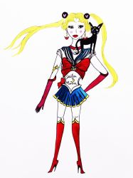 My version of Sailor Moon by FoolsGolde