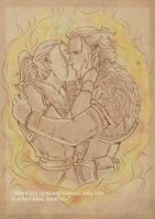 Saoirse and Anders by emmav
