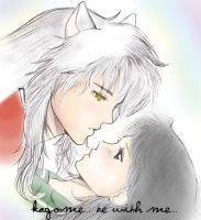 Kagome be with me text by Tsukiko88