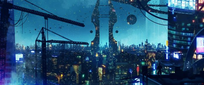 Concordian Cityscape by SeerLight