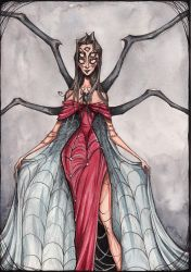 Spider Lady by TallyTodd