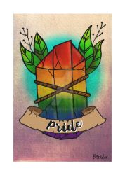 Pride Crystal by K8e-Art