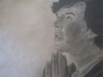 Charcoal Sherlock by cynthp1580