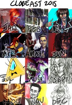 Art Summary 2015 by broseidon