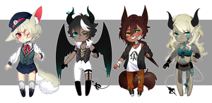 Mixed Adopts Batch 2 [CLOSED] by yhviia-adopts