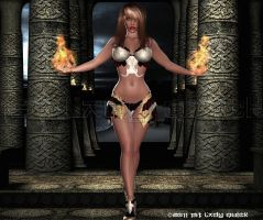 PLAYIN' WIT FIRE by 1STLADYQUICK