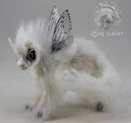 OOAK Mini Poseable Fairy Horse Dragon Fledgling by M-J-Albert