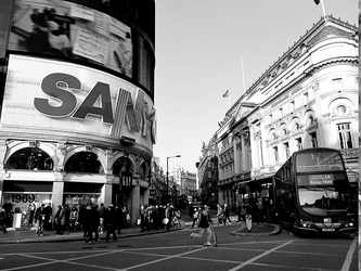 Piccadilly Circus by Manuzf7