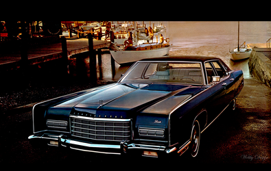 Lincoln Continental 1972 by Webby-B