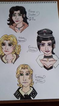 Character heads part 6 by Laineyfantasy