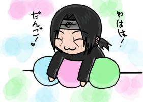 itachi loves dango by bluemoondesu