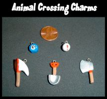 Animal Crossing Charms by YellerCrakka