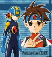 Rockman EXE by NoixEX