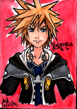 Sora from KHII by PsychoticSweet