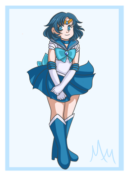 Sailor Mecury by malicemuffin