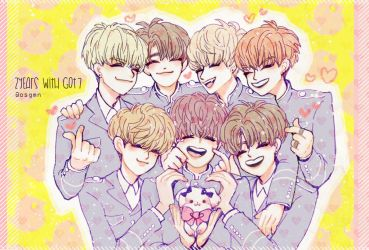 2YEARS WITH GOT7 by osgmn