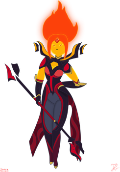 Elementalist Flame Princess by Andrasfu1027