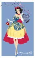 Snow White Concept Dress by StudioEffedue