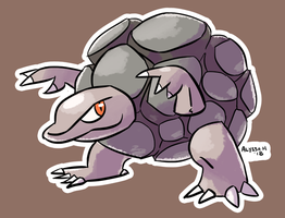 #076 Golem by little-ampharos