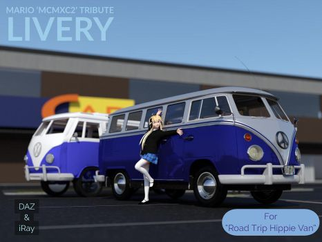 MCMXC2 Tribute Livery for Road Trip Hippy Van by Mikey186