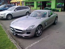 2010 Mercedes Benz SLS AMG by TricoloreOne77