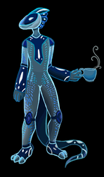 Morksuot in Blue by ChimericMachinations