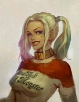 Harley Quinn Fan Art by Olabukoo