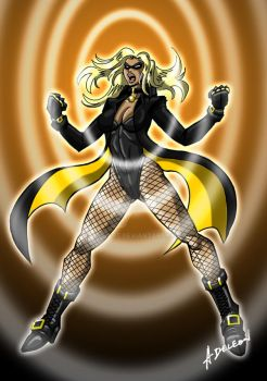 Black Canary Concept 2.0 by ADL-art