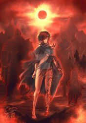 Lady of the bloody Sun by Poticceli