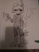 Jupiter by StarrySphynxKitty