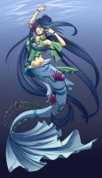 Mermaid Adoptable [CLOSED] by Kyatia