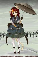 gothic lolita loona by yume