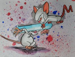 Pinky and The Brain by themarymetz