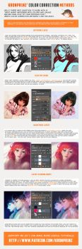 Color Correction Methods by Kuvshinov-Ilya