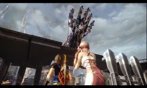 Serah and Noel Screenshot n.5 by SerahsBowBlade