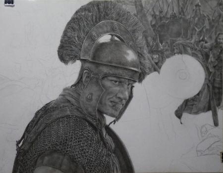 WIP 3 - Heat Of Battle by roomania