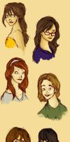 Potter Gals by MioneBookworm