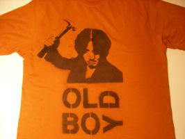Old Boy T-Shirt by ViewtifulDario