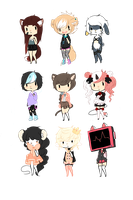 { 9/100 Adopts } OPEN - PAYPAL AND POINTS by chocadopt