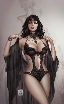 Zenescope TalesOfTerror#7, pencils: M. Krome by sinhalite