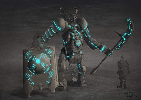 Garuda Infused Heavy Armor Concept 3 by mighty5cent